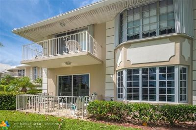Boca Raton Condo/Townhouse For Sale: 1299 S Ocean Blvd #L-5
