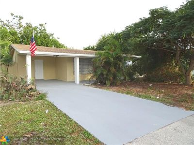 Pompano Beach Single Family Home For Sale: 3020 NE 10th Ave