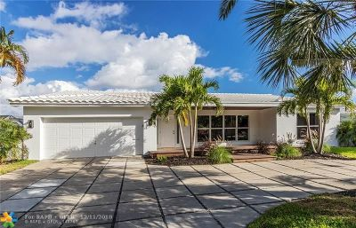 Fort Lauderdale Single Family Home For Sale: 2901 NE 55