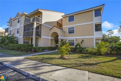 Coral Springs Condo/Townhouse For Sale: 5701 Riverside Dr #106B6