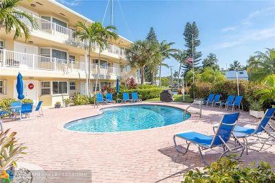Fort Lauderdale Condo/Townhouse For Sale: 535 Hendricks Isle #101