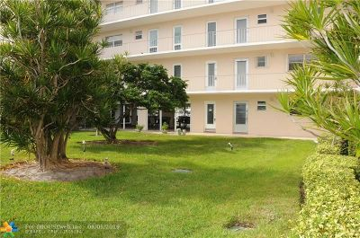 Pompano Beach Condo/Townhouse For Sale: 1481 S Ocean Blvd #123B