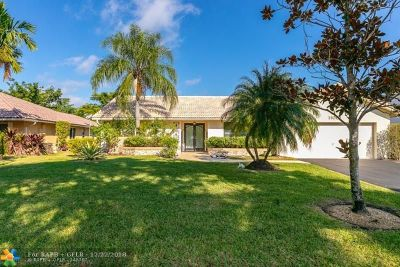 Coral Springs Single Family Home Backup Contract-Call LA: 11001 NW 13th Ct