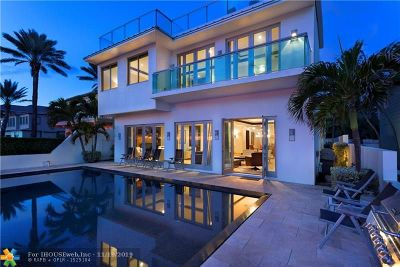 Fort Lauderdale FL Single Family Home For Sale: $4,950,000