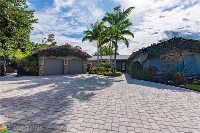 Wilton Manors Single Family Home Backup Contract-Call LA: 1948 NE 7th Ter