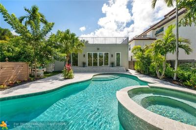 Fort Lauderdale FL Single Family Home For Sale: $950,000