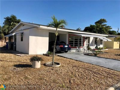Pompano Beach Single Family Home For Sale: 3100 NE 11th Ave