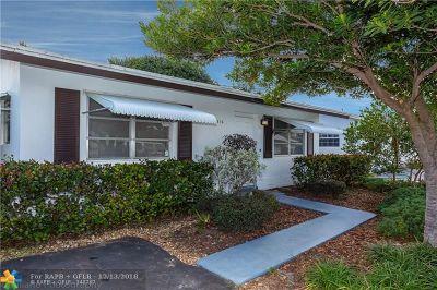 Tamarac FL Single Family Home For Sale: $155,000