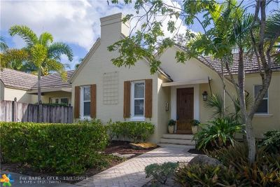 Fort Lauderdale Single Family Home For Sale: 18 SE 12th Ave