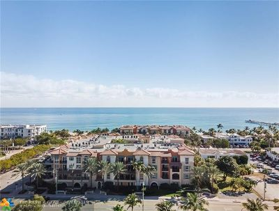 Lauderdale By The Sea Condo/Townhouse For Sale: 4445 El Mar Drive #2404