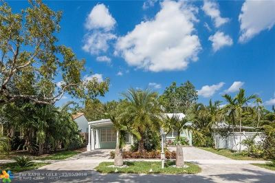Fort Lauderdale Single Family Home For Sale: 1621 NE 3rd Ct
