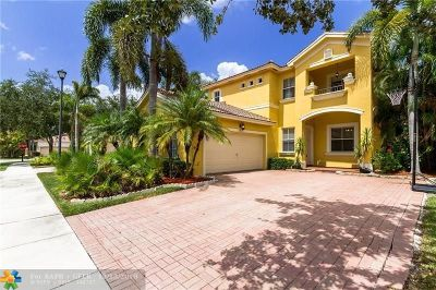 Coral Springs Rental For Rent: 5861 NW 122nd Way