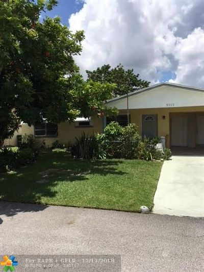 Tamarac Single Family Home For Sale: 5713 NW 68th Ave