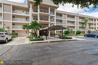 Pompano Beach Condo/Townhouse For Sale: 2601 S Course Dr #310