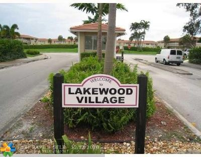 Coral Springs FL Condo/Townhouse For Sale: $139,000