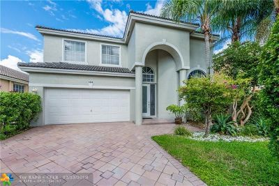 Coral Springs Single Family Home For Sale: 1090 NW 117th Ave