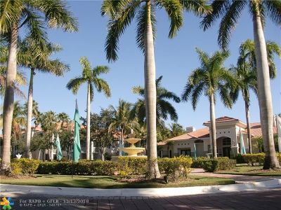 Coral Springs Condo/Townhouse For Sale: 11787 W Atlantic Blvd #336-3