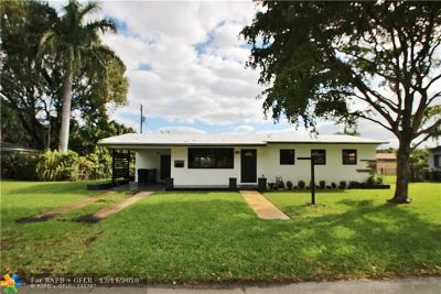 Wilton Manors Rental For Rent: 2632 NE 10th Ave