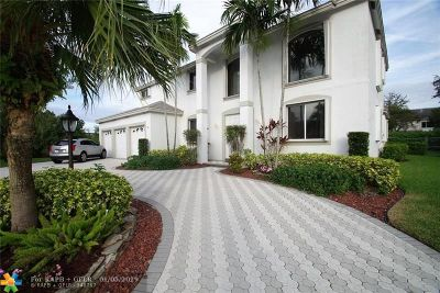 Coral Springs Single Family Home For Sale: 5745 NW 100th Ter