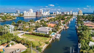 Fort Lauderdale Residential Lots & Land For Sale: 2424 Aqua Vista Blvd