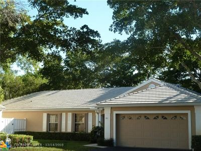 Plantation Single Family Home For Sale: 9520 NW 9 Ct