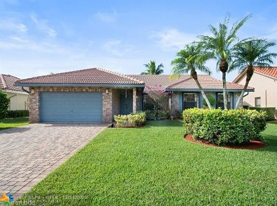 Coral Springs FL Single Family Home For Sale: $484,900