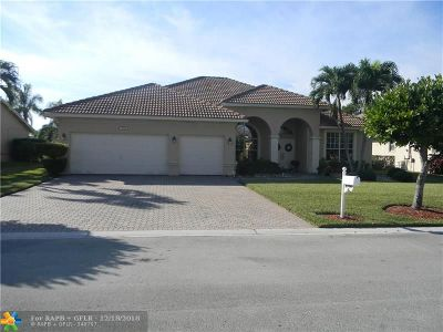 Coral Springs Single Family Home For Sale: 5114 NW 57th Dr
