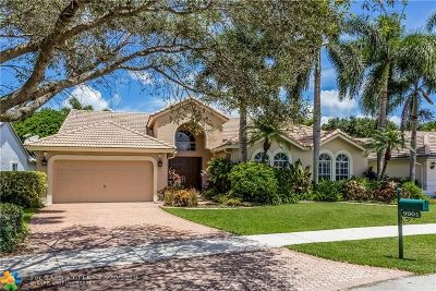 Davie Single Family Home For Sale: 9901 N Abiaca Cir