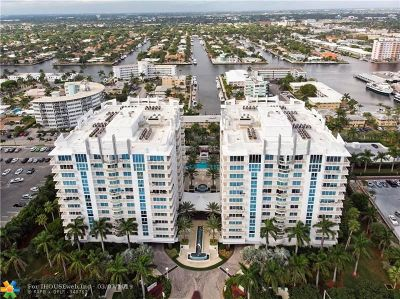Fort Lauderdale Condo/Townhouse For Sale: 2821 N Ocean Blvd #708S