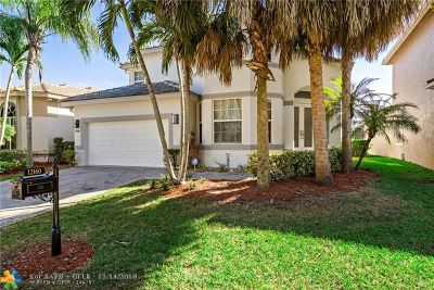 Coral Springs Single Family Home For Sale: 12160 NW 15th Ct