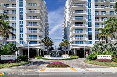 Fort Lauderdale Condo/Townhouse For Sale: 2821 N Ocean Blvd #205-S