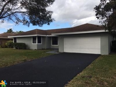 Coral Springs Single Family Home For Sale: 11285 NW 43rd Pl