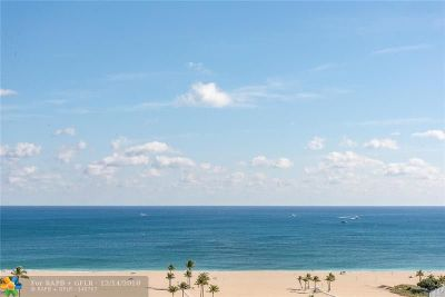 Fort Lauderdale Condo/Townhouse For Sale: 1900 S Ocean Dr #1409