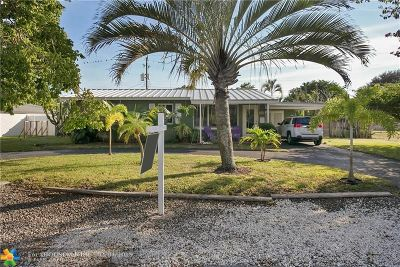Wilton Manors Single Family Home For Sale: 300 NE 27th Dr