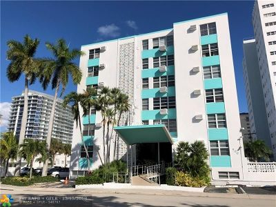Broward County, Collier County, Lee County, Palm Beach County Rental For Rent: 600 N Birch Rd #503H
