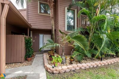Tamarac Condo/Townhouse Backup Contract-Call LA: 6096 Buckeye Ct #B