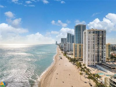 Hollywood Condo/Townhouse For Sale: 2301 S Ocean Dr #605