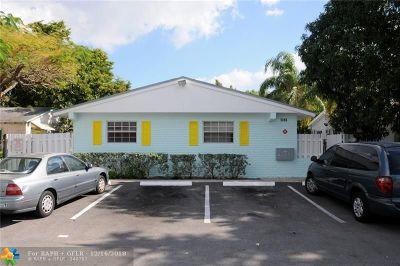 Fort Lauderdale FL Multi Family Home For Sale: $475,000