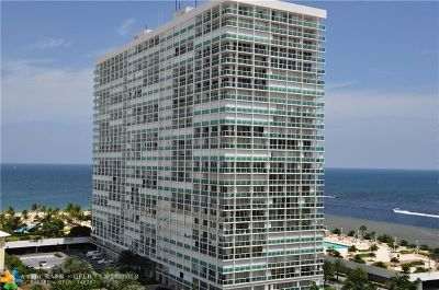Fort Lauderdale Condo/Townhouse For Sale: 2100 S Ocean Ln #609