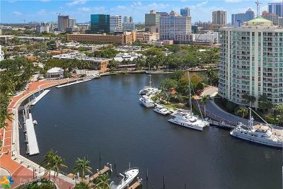 Fort Lauderdale Condo/Townhouse Backup Contract-Call LA: 600 W Las Olas Blvd #1705S