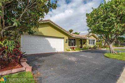 Wilton Manors Single Family Home For Sale: 1009 NW 29th Ct