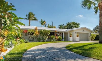 Wilton Manors Single Family Home For Sale: 2300 NW 6th Ter