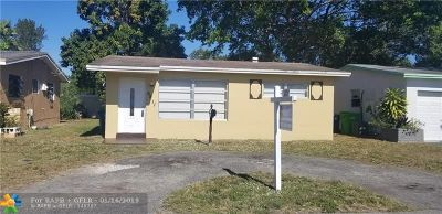 Sunrise Single Family Home For Sale: 6811 NW 30th St