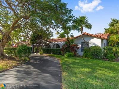 Coral Springs Single Family Home For Sale: 8705 NW 29th Dr