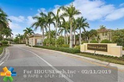 Coconut Creek Condo/Townhouse For Sale: 4516 Monarch Way #4516