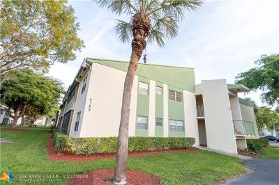 Coral Springs Condo/Townhouse For Sale: 4143 NW 90th Ave #105