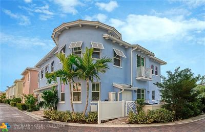 Fort Lauderdale FL Single Family Home For Sale: $890,000