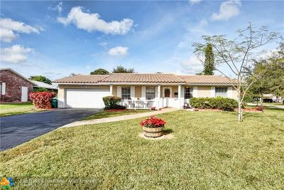 Coral Springs Single Family Home For Sale: 10315 NW 43rd St
