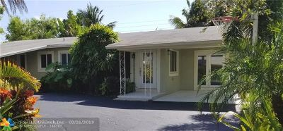 Wilton Manors Single Family Home For Sale: 500 NE 28th Dr