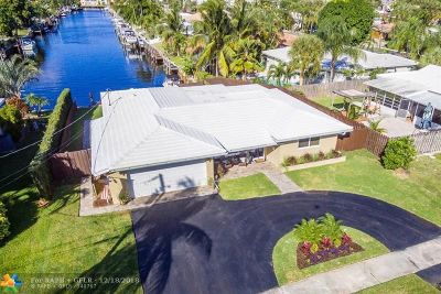 Pompano Beach Single Family Home For Sale: 631 SE 5th St